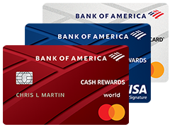 Credit Cards For College Students From Bank Of America