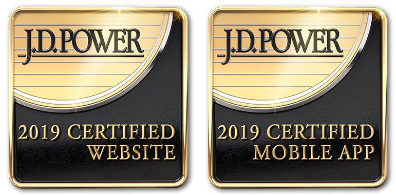 Certified By JD Power For An Outstanding Customer Experience