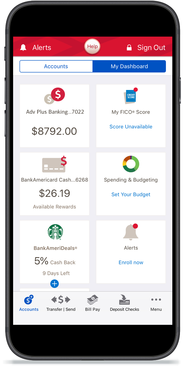 Mobile and Online Banking Benefits & Features from Bank of America