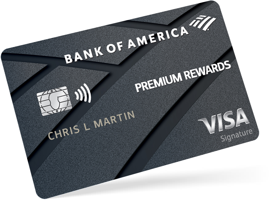 Bank of America premium rewards card