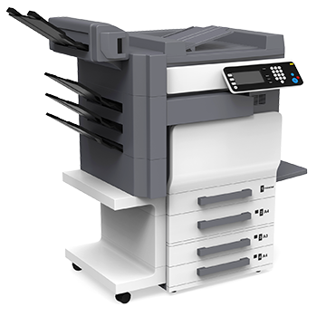 financed printing equipment for a business