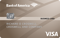 Platinum visa business credit card from bank of america get a competitive apr with no annual fee with a platinum visa business credit card reheart Image collections
