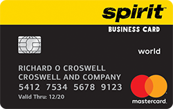 Spirit airlines world mastercard for business credit card earn 15000 bonus miles after the first purchase with your spirit airlines world mastercard for business credit card reheart Image collections