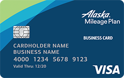 Alaska airlines visa business credit card from bank of america 30000 bonus miles offer with no foreign transaction fees with your alaska airlines visa business card reheart Images