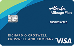 Alaska Airlines Visa® Business Credit Card from Bank of America