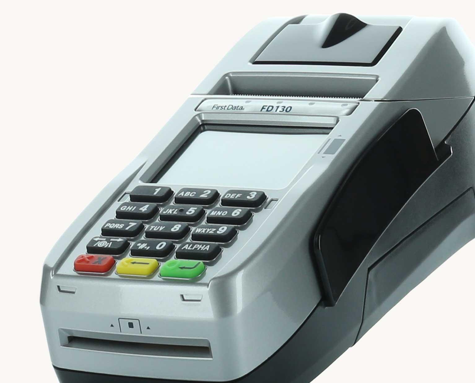 First Data FD130 EMV Credit Card Processing Terminal